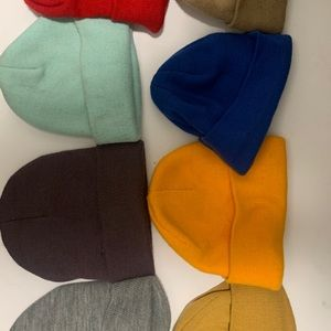 Assortment of 8 Urban Outfitters Beanies